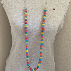 Rainbow Long Necklace
